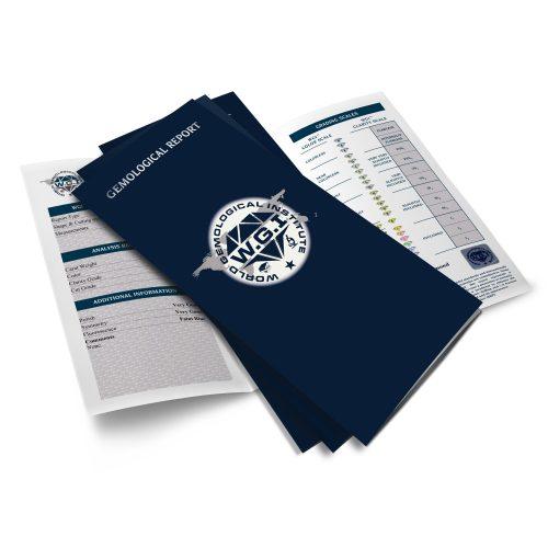 a4 diamond certificate